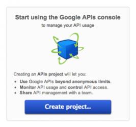 Create API Project
