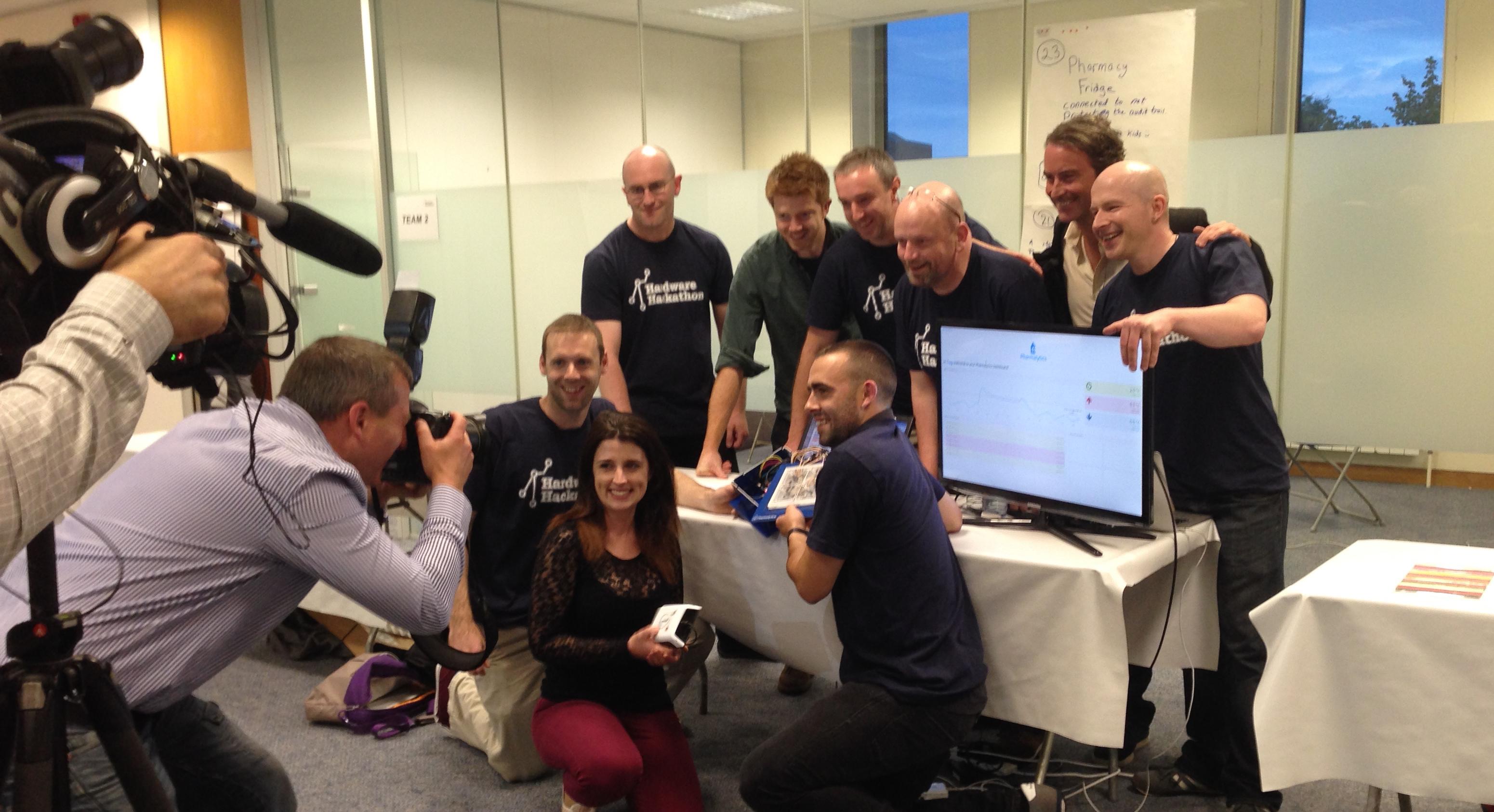 EpiSensor at the Dublin Hardware Hackathon
